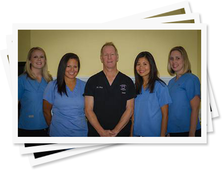 Dr. Way and his Richmond dental team.